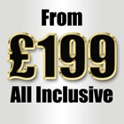 Starter Website from £199 all inclusive.