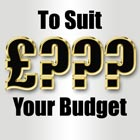 Website Design to suit your budget.